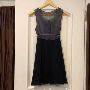 Free People Silk and Wool Dress- Size 2